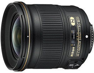Nikon AF-S 24mm f/1.8G ED Czarny