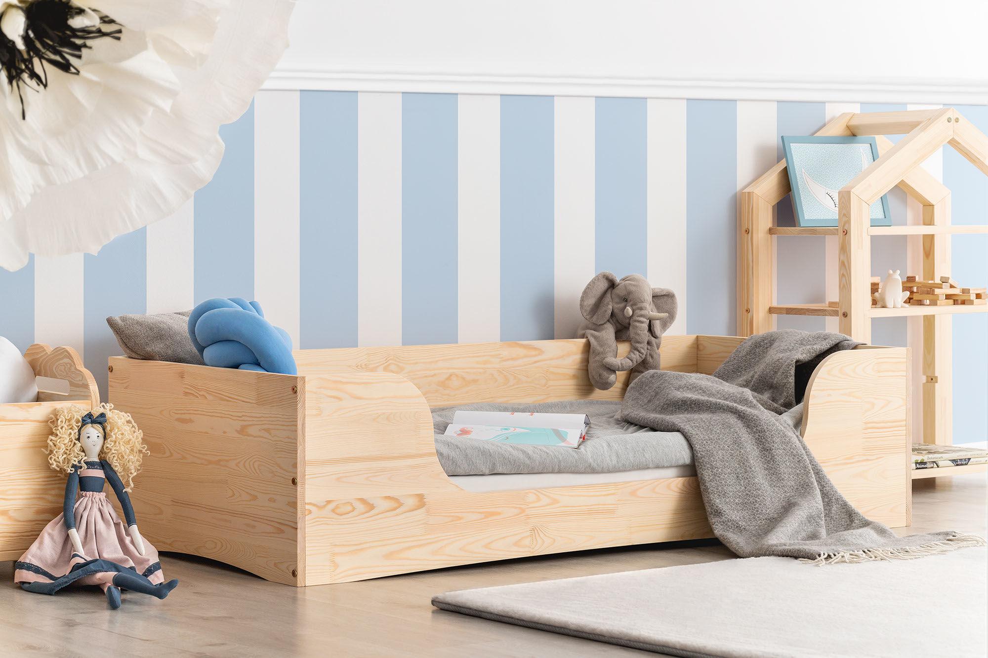Łóżko dla dzieci pojedyncze Kiara