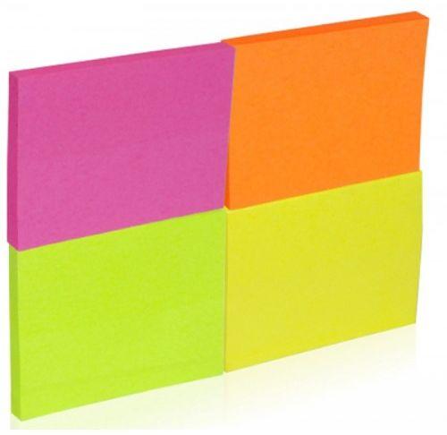 Karteczki samoprzylepneDONAU 38x51mm 4x50szt neon 7578001PL-99