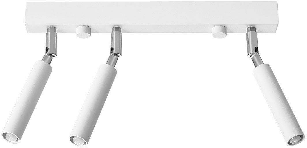 Biały plafon z regulacją reflektorów - EX673-Eyetes