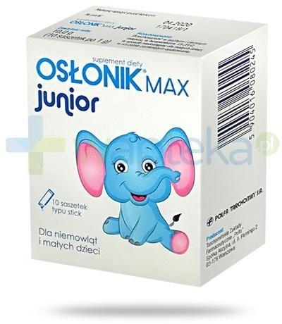 Osłonik Max Junior 10 saszetek
