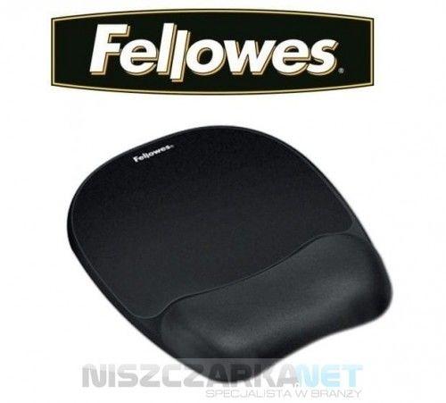Podkładka piankowa pod mysz i nadgarstek Fellowes Memory Foam CZARNA 9176501