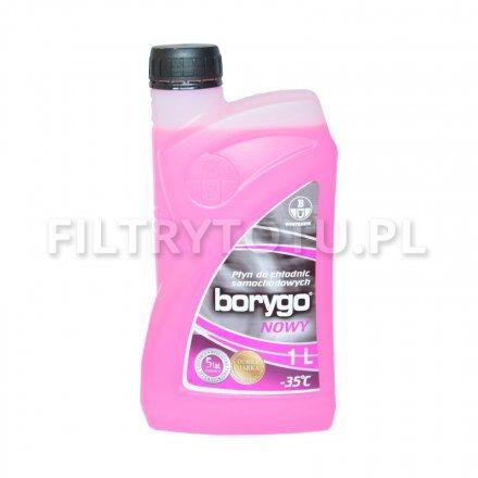 Borygo (różowy) płyn chłodniczy -35 C 1l