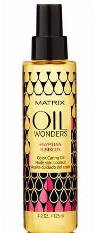 Matrix Oil Wonders Egyptian Hibiscus olejek do włosów koloryzowanych 150 ml