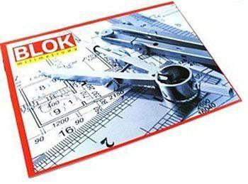 Blok z papieru milimetrowego A3 20 - X04574