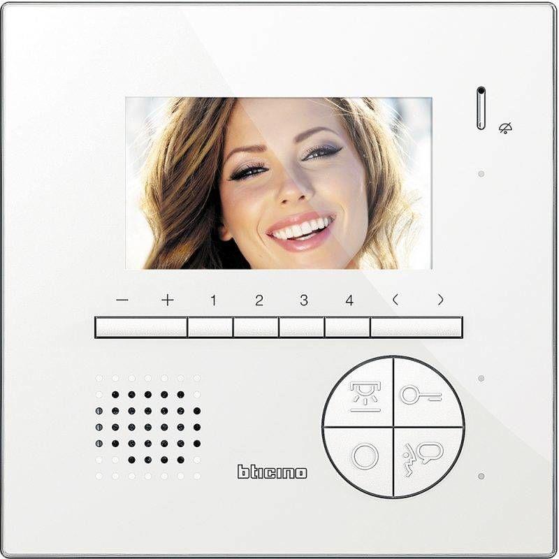 Bticino wideodomofon głośnomówiący 4,3 cala CLASSE 100V12E Legrand 344522