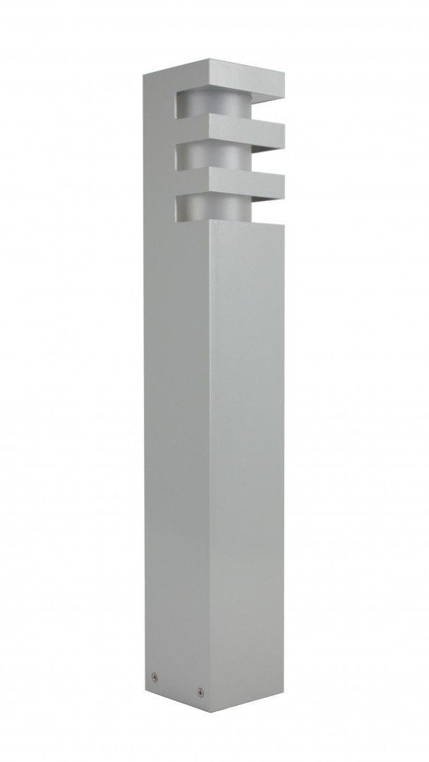 Lampa stojąca ogrodowa RADO 2 AL Srebrny IP54 - Su-ma Do -17% rabatu w koszyku i darmowa dostawa od 299zł !