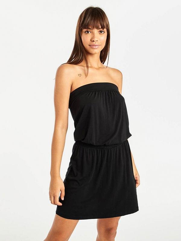Billabong AMED black krótkie sukienki