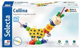 Selecta 61014 Collina, drewniany łańcuszek do wózka