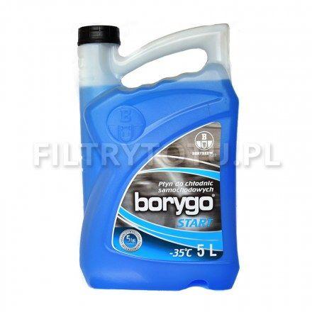 Borygo START (niebieski) płyn chłodniczy -35 C 5l