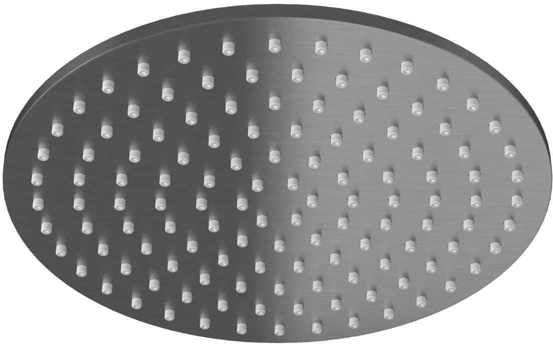 Kohlman deszczownica okrągła R25 25 cm grafit R25G