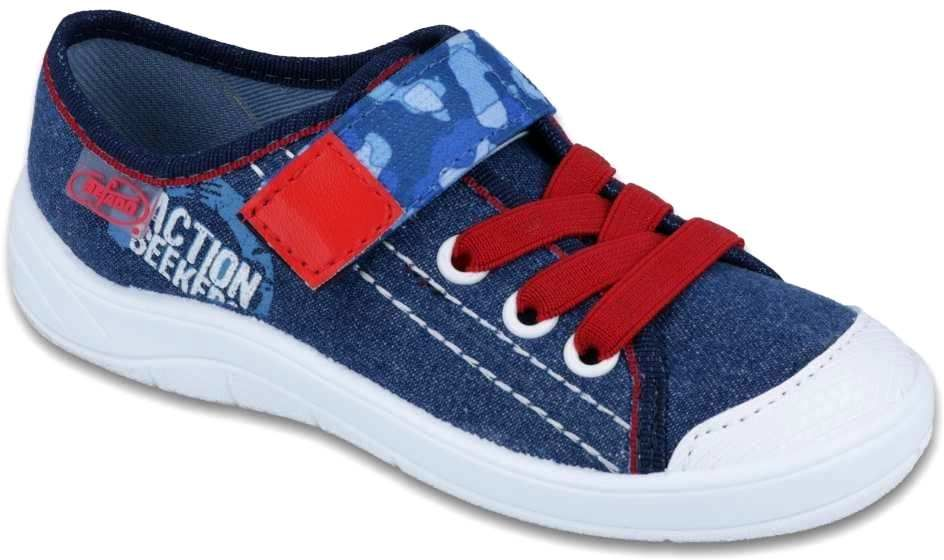 BEFADO 251X101 jeans czerwony