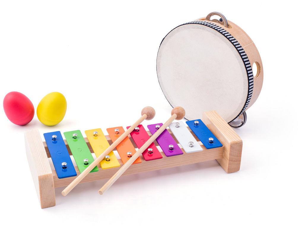 Zestaw Muzyczny 8 elementów - instrumenty dla dziecka