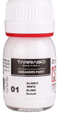 Farba do Skór i Syntetyków TARRAGO Standard 25ml Biala