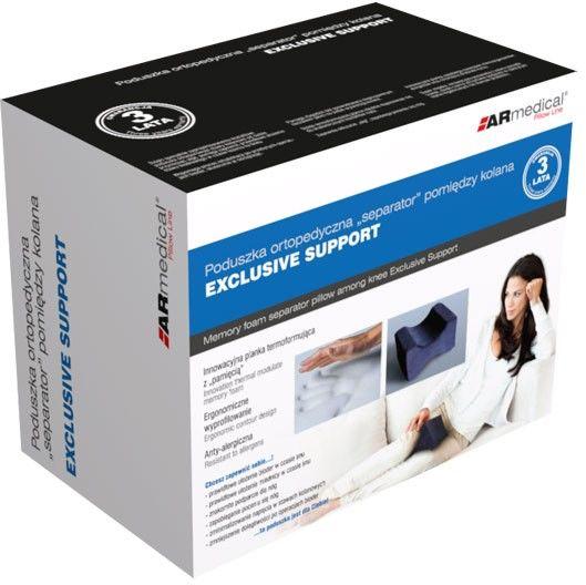 """Poduszka ortopedyczna """"SEPARATOR"""" pomiędzy kolana Exclusive Support (MFP-2520)"""