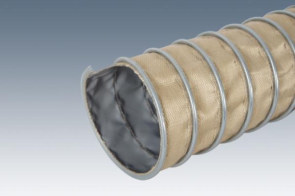 Wąż odciągowy wysokotemperaturowy Klin PTFE Teflo-D fi 90