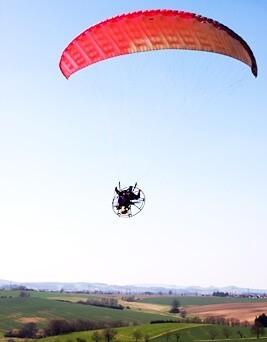 Lot motoparalotnią dla dwóch osób  Opole