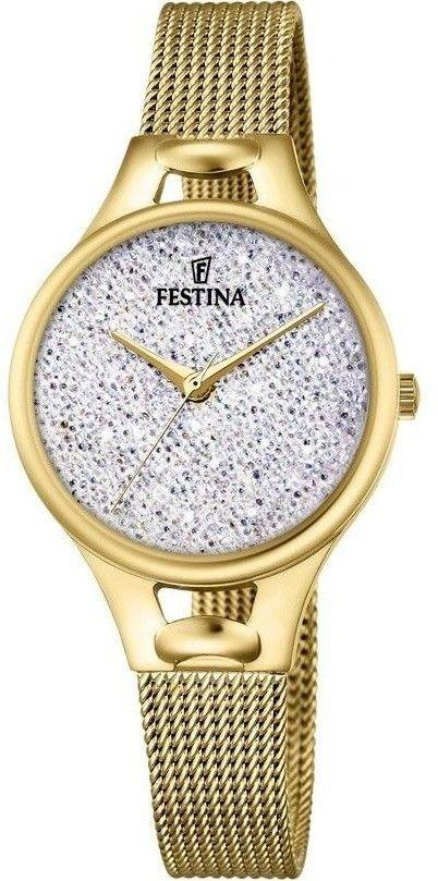 Zegarek Festina F20332-1 Mademoiselle Swarovski - CENA DO NEGOCJACJI - DOSTAWA DHL GRATIS, KUPUJ BEZ RYZYKA - 100 dni na zwrot, możliwość wygrawerowania dowolnego tekstu.