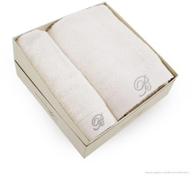 Komplet ręczników Blumarine Benessere Pearl