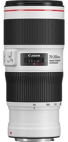 Canon EF 70-200mm f/4.0 L IS II USM Biały + filtr UV