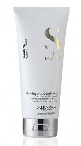 Alfaparf Semi Di Lino Diamond Illuminating Odżywka rozświetlająca do włosów normalnych 200 ml