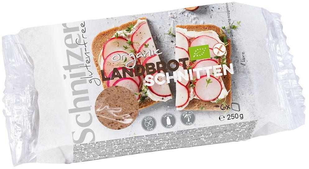 Chleb tradycyjny wiejski bezglutenowy bio 250 g - schnitzer