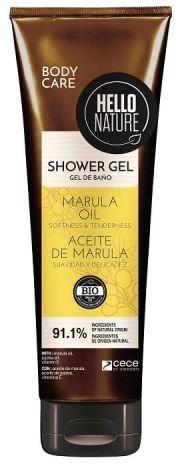 Żel pod prysznic OLEJEK MARULA Hello Nature, 250 ml