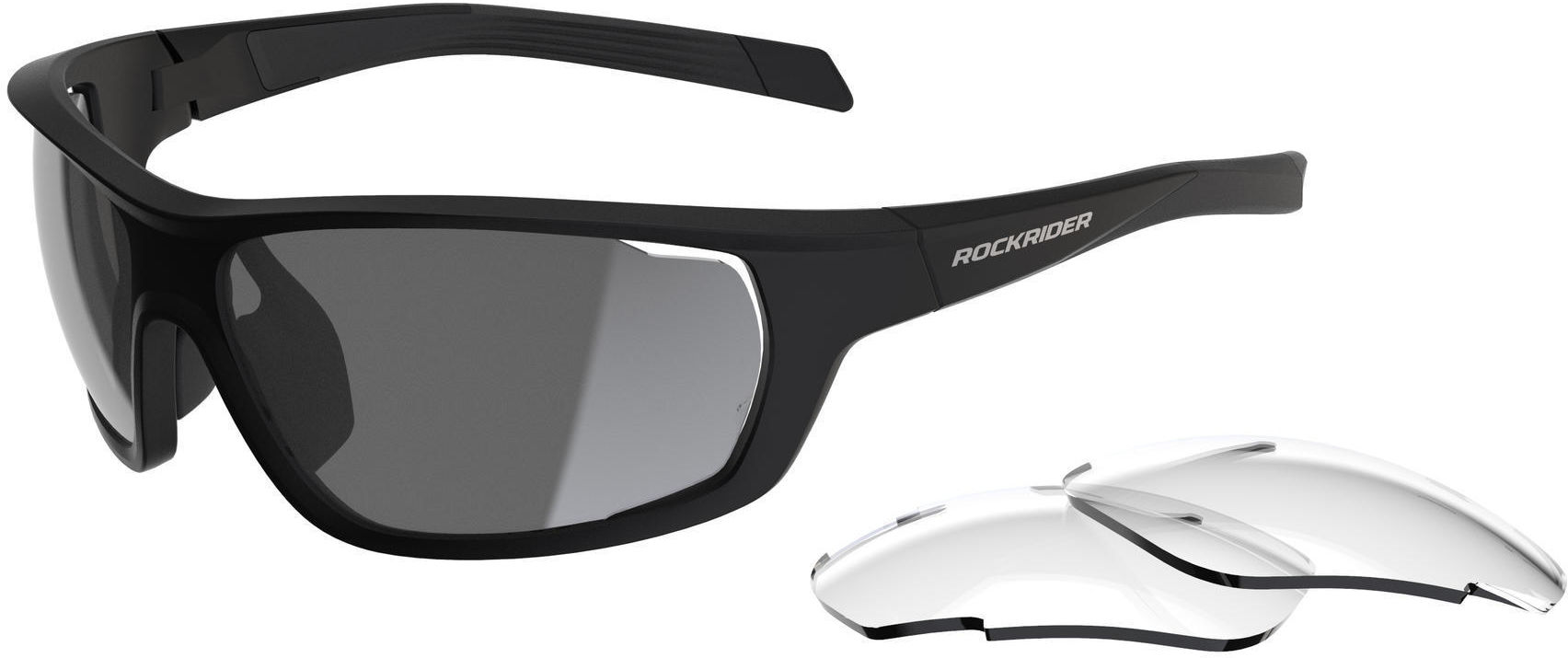 Okulary rowerowe Rockrider XC Pack kat. 0+3