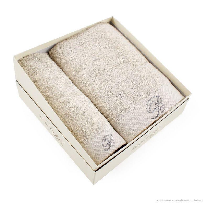Komplet ręczników Blumarine Benessere Sand