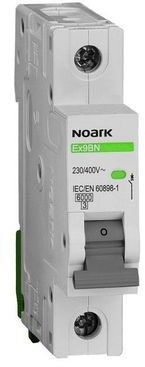 Wyłącznik nadprądowy 1P D 4A 6kA AC NOARK 100183