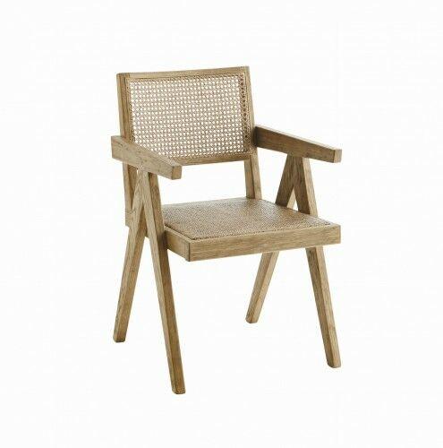 Rattanowe krzesło- naturalne Madam Stoltz