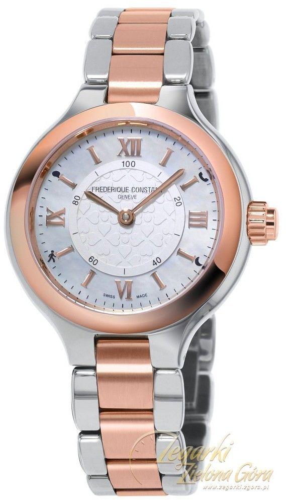 Zegarek damski Frederique Constant Horological Smartwatch Bluetooth FC-281WH3ER2B
