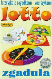 Lotto zgaduła Loteryjka obrazkami ZAKŁADKA DO KSIĄŻEK GRATIS DO KAŻDEGO ZAMÓWIENIA