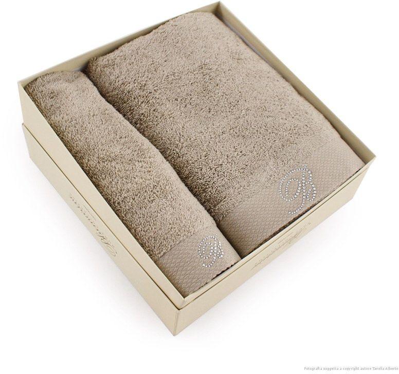 Komplet ręczników Blumarine Benessere Gravel