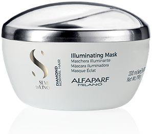 Alfaparf Semi Di Lino Diamond Illuminating Maska rozświetlająca do włosów normalnych 200 ml