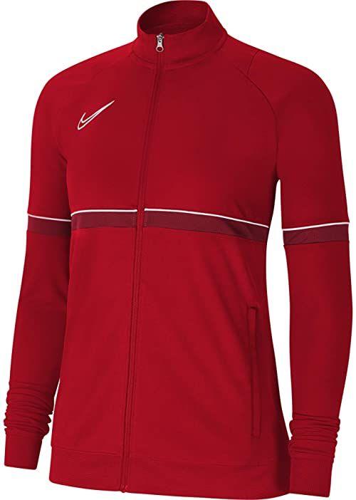 Nike Damska kurtka damska Academy 21 Track Jacket Uniwersytet czerwony/biały/siłowni czerwony/biały XS