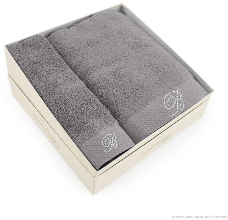 Komplet ręczników Blumarine Benessere Grey