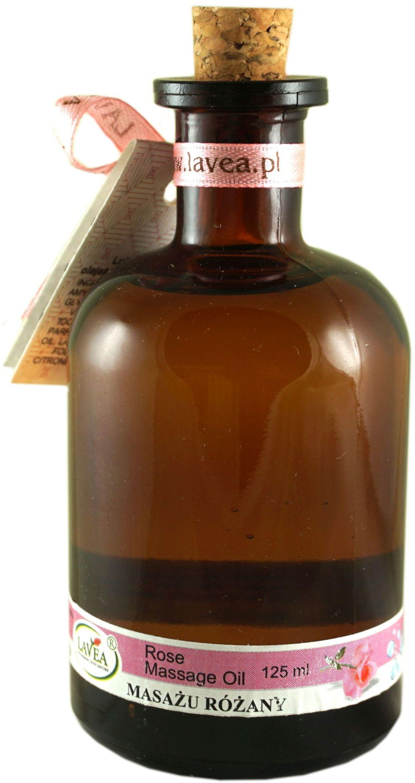 Luksusowy olejek do masażu róża - 110 ml - Lavea