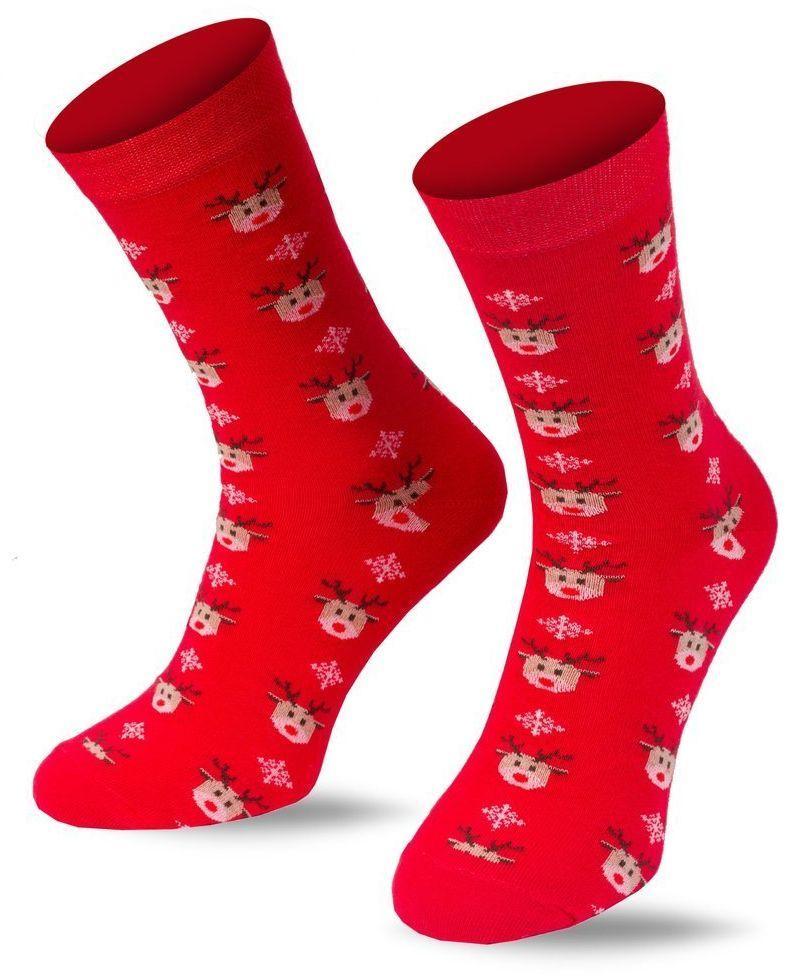 Skarpety świąteczne męskie kolorowe ELTOM na prezent