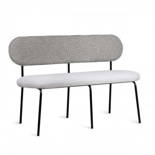 Ławeczka stołowa w kolorze szarym
