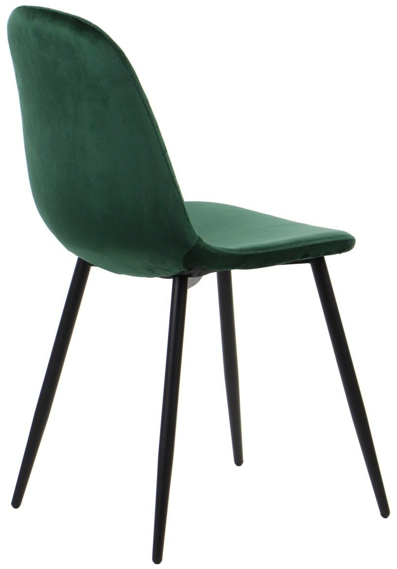 Krzesło CN-6001 zielone tapicerowane w stylu loft  KUP TERAZ - OTRZYMAJ RABAT