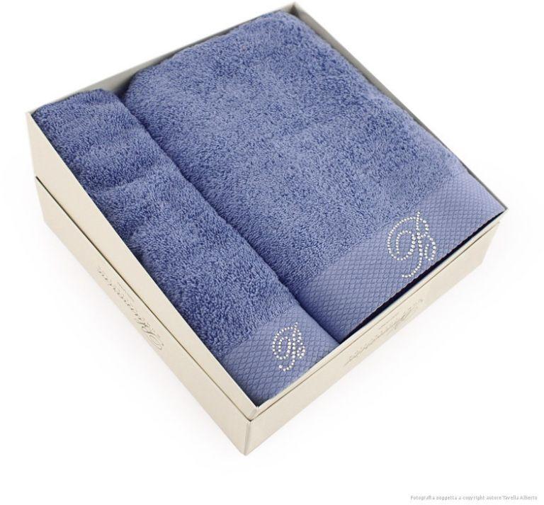 Komplet ręczników Blumarine Benessere Perwinkle