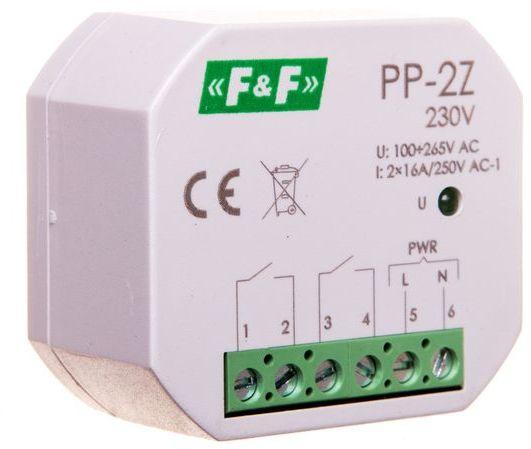 Przekaźnik elektromagnetyczny 2Z 16A 100-265V AC PP-2Z-230V