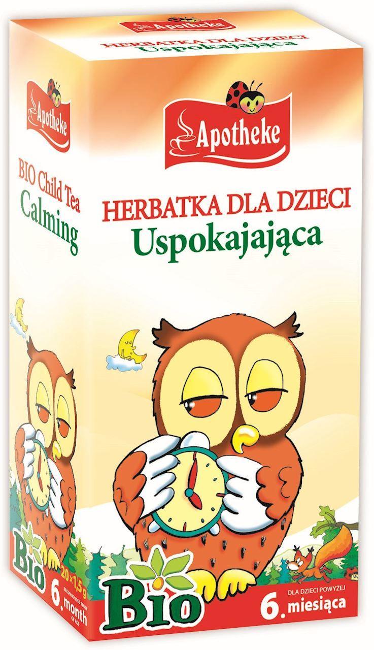 Herbatka dla dzieci - uspokajająca bio 20 x 1,5 g - apotheke