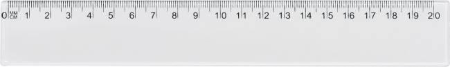 Linijka 20 cm przezroczysta - X00695