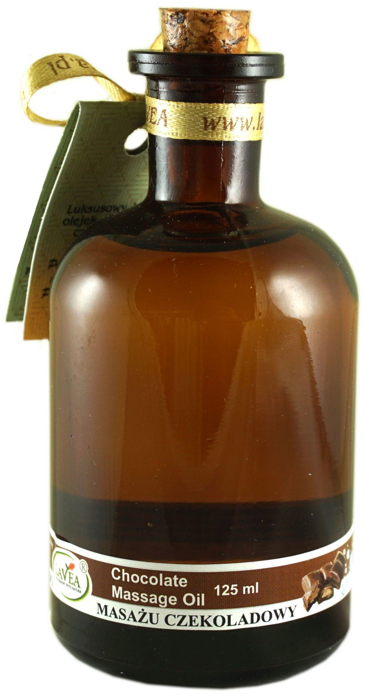 Luksusowy olejek do masażu czekoladowy - 125 ml - Lavea