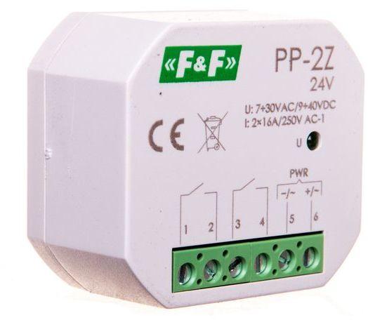 Przekaźnik elektromagnetyczny 2Z 16A 7-30V AC/9-40V DC PP-2Z-24V