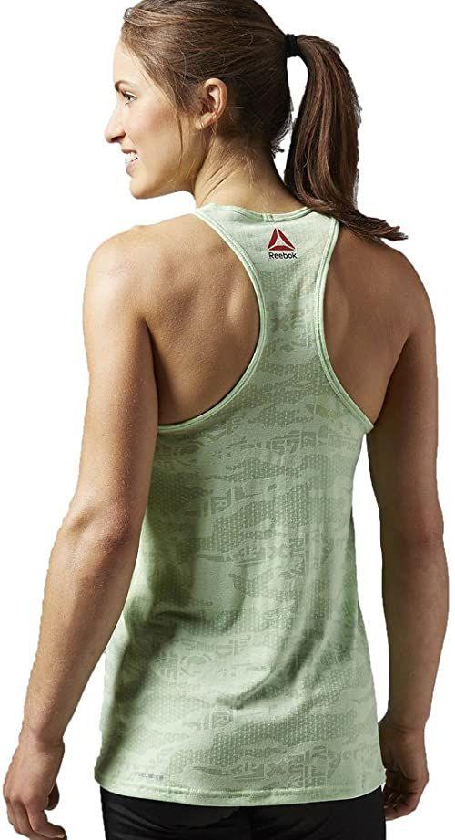Reebok damska koszulka bez rękawów ONE Series Burnout Tank, Seafoam Green, L