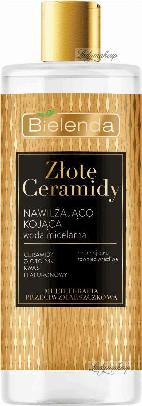 Bielenda - Złote Ceramidy - Nawilżająco-kojąca woda micelarna - 500 ml