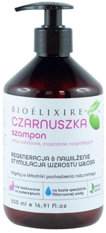 Bioelixire Czarnuszka szampon regenerujący 500ml